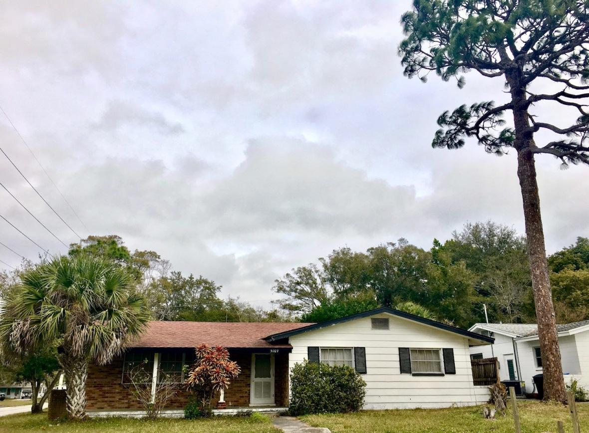Beat Poet Writer Jack Kerouac's house in St. Petersburg, Florida