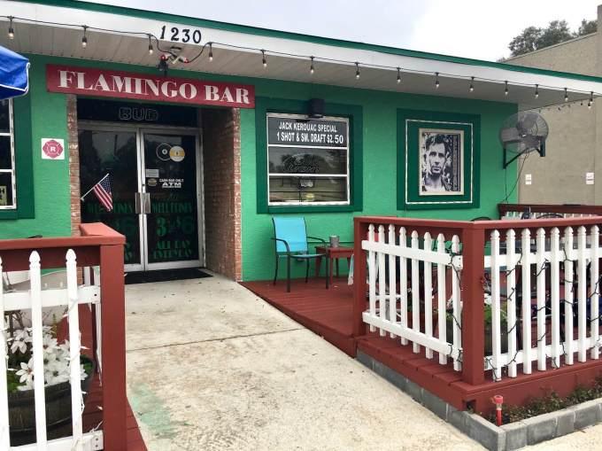 Jack Kerouac hangout Flamingo Bar in St. Petersburg Florida