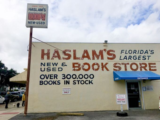 Haslam's Book Store in St. Petersburg Largest bookstore in Florida