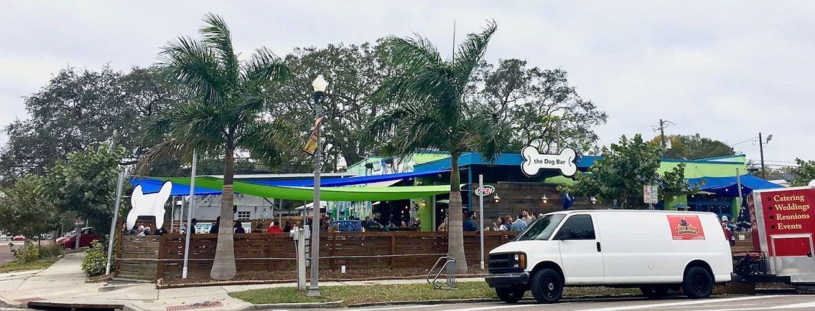 The Dog Bar in Kenwood neighborhood of St. Pete Florida