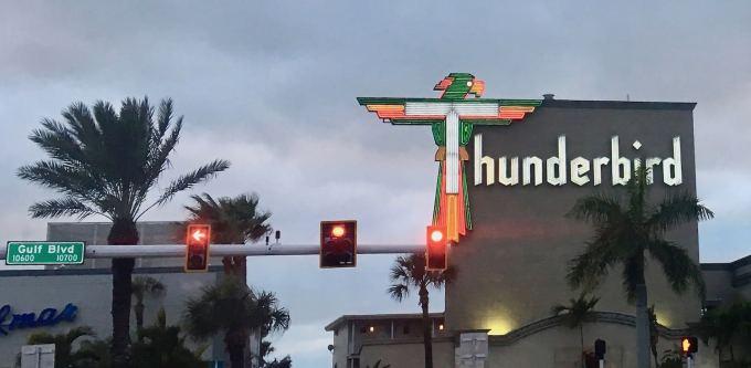 Retro Neon at the Thunderbird Hotel Resort on Treasure Island