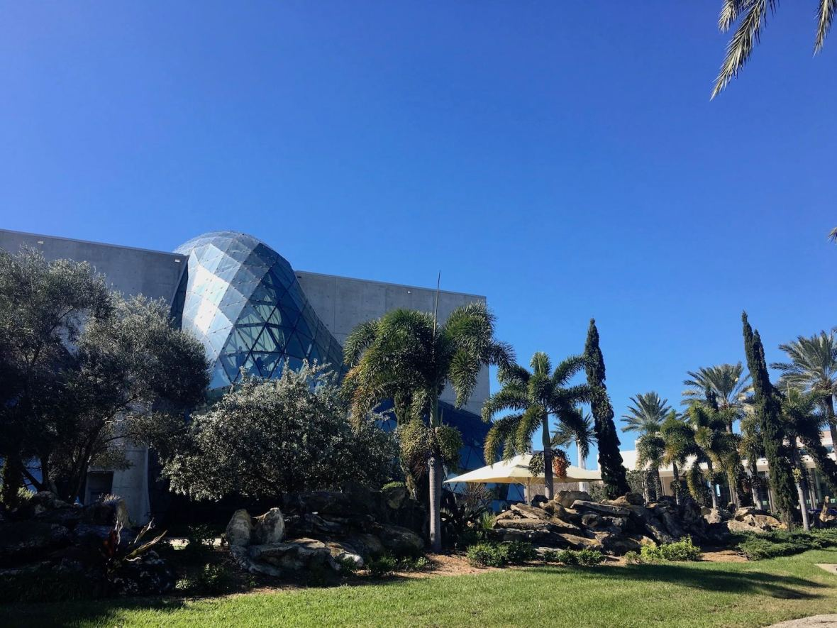 Yann Weymouth designed Dali Museum in downtown St. Petersburg, Florida