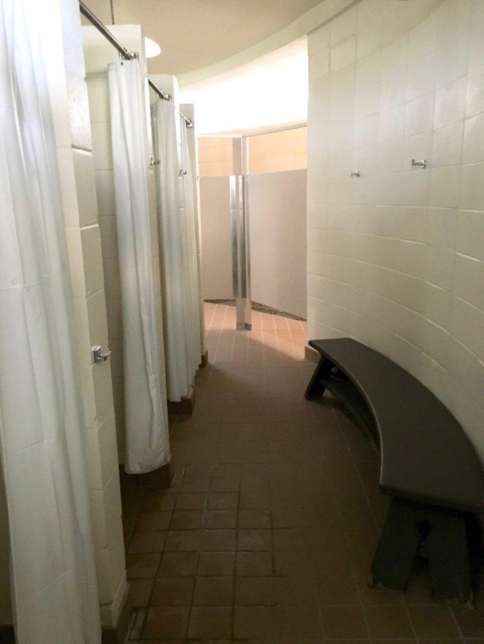 Fort De Soto Park campground showers