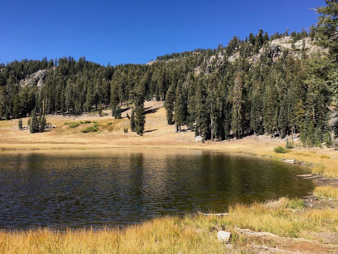 Cold Boiling Lake in Lassen Volcanic National Park