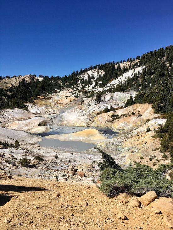 Bumpass Hell in Lassen Volcanic National Park
