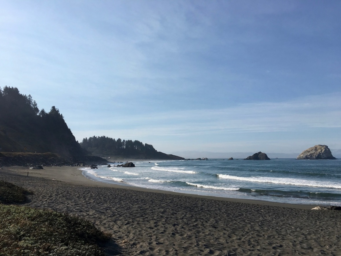 Crescent Beach near Crescent City, California