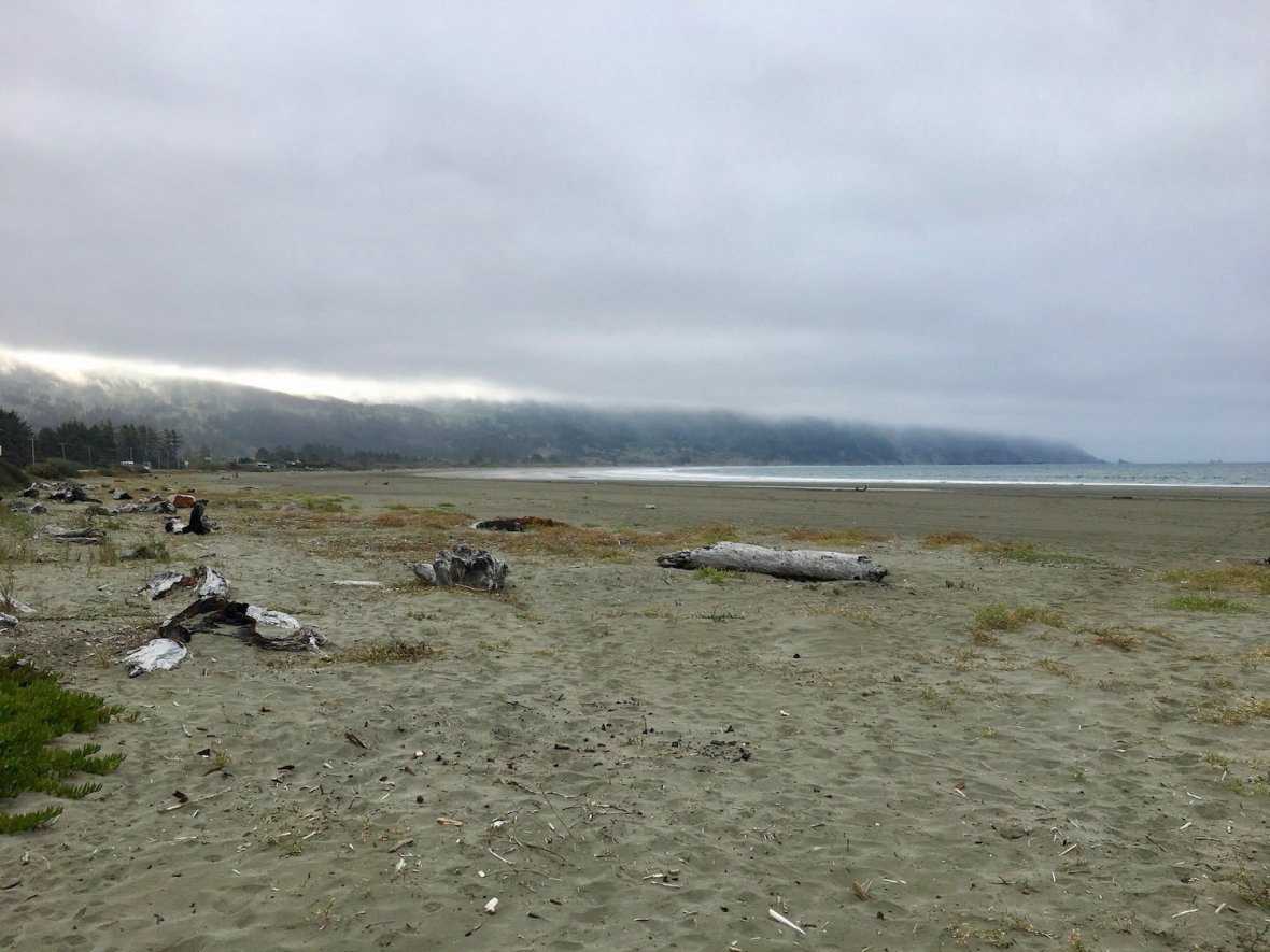 Crescent Beach in Crescent City, California