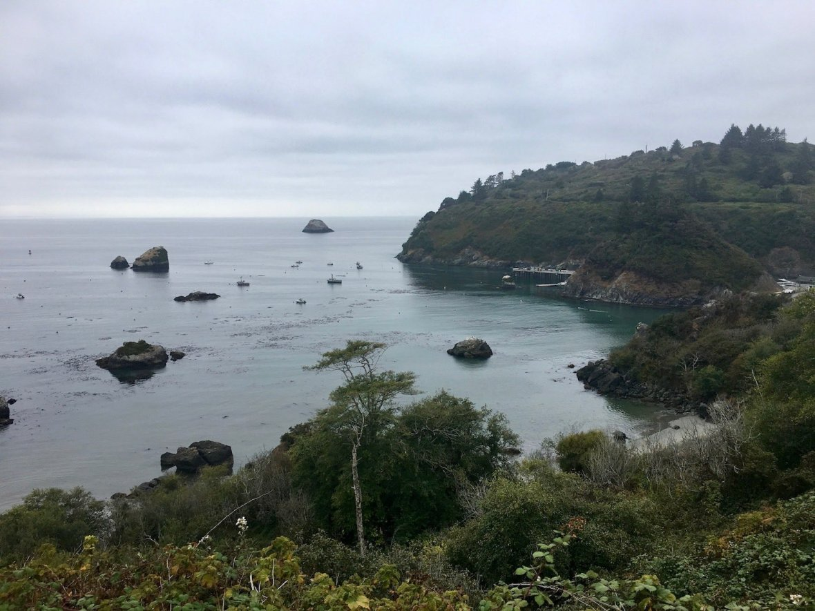 Trinidad, California on Pacific Coast Highway 101