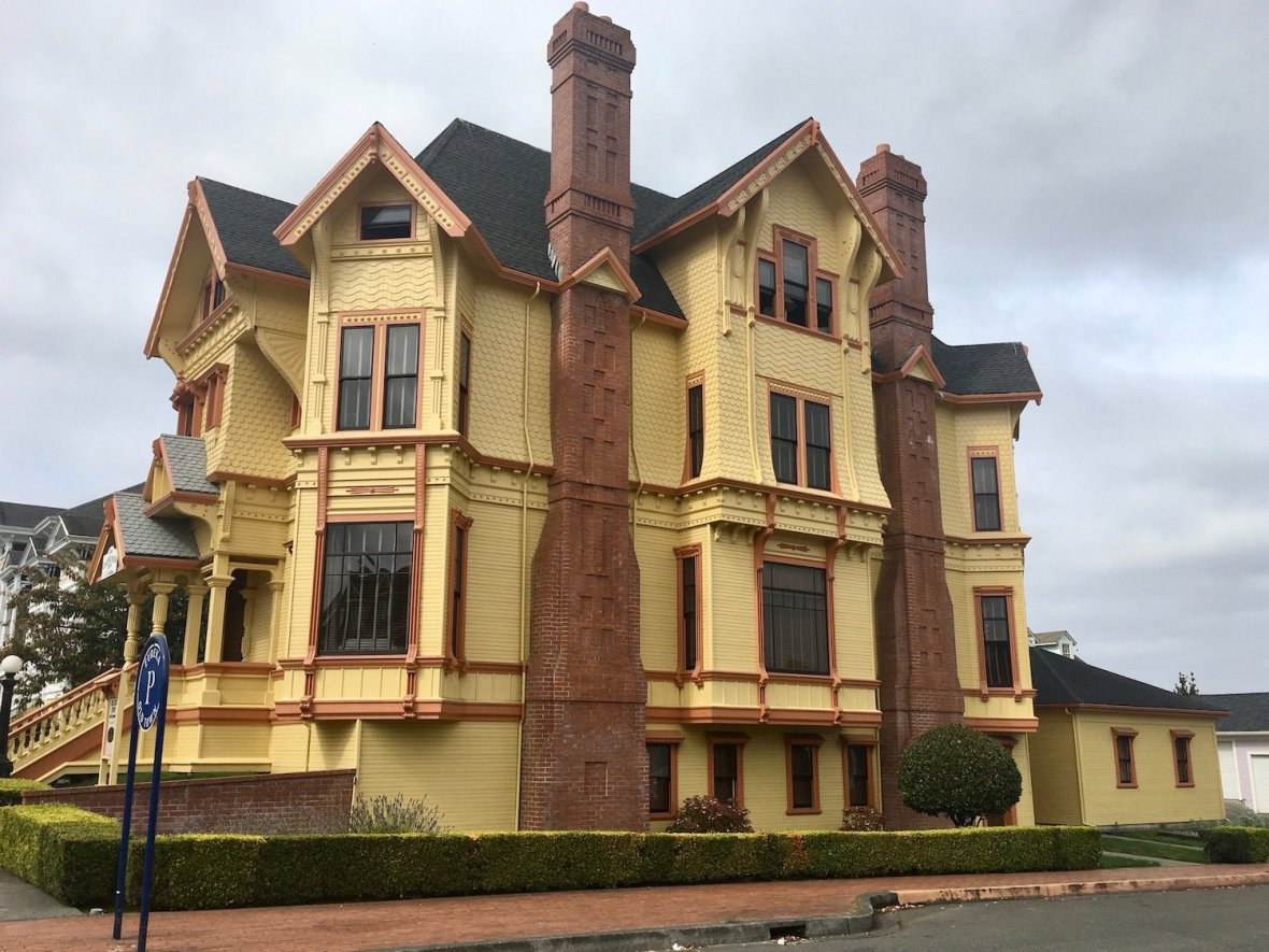 Victorian home in Eureka, California