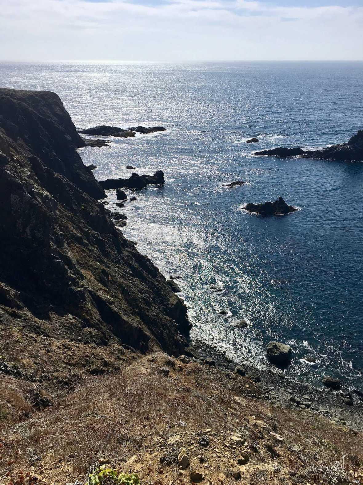 Pacific Ocean, Mendocino Headlands, California