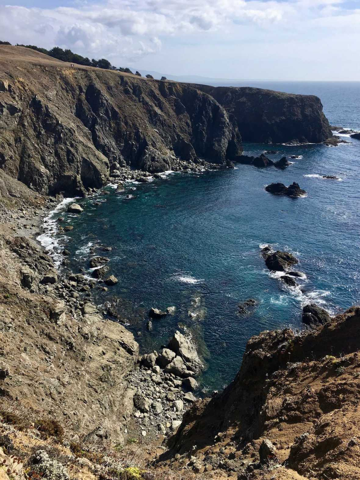Mendocino Headlands on California's Pacific Coast