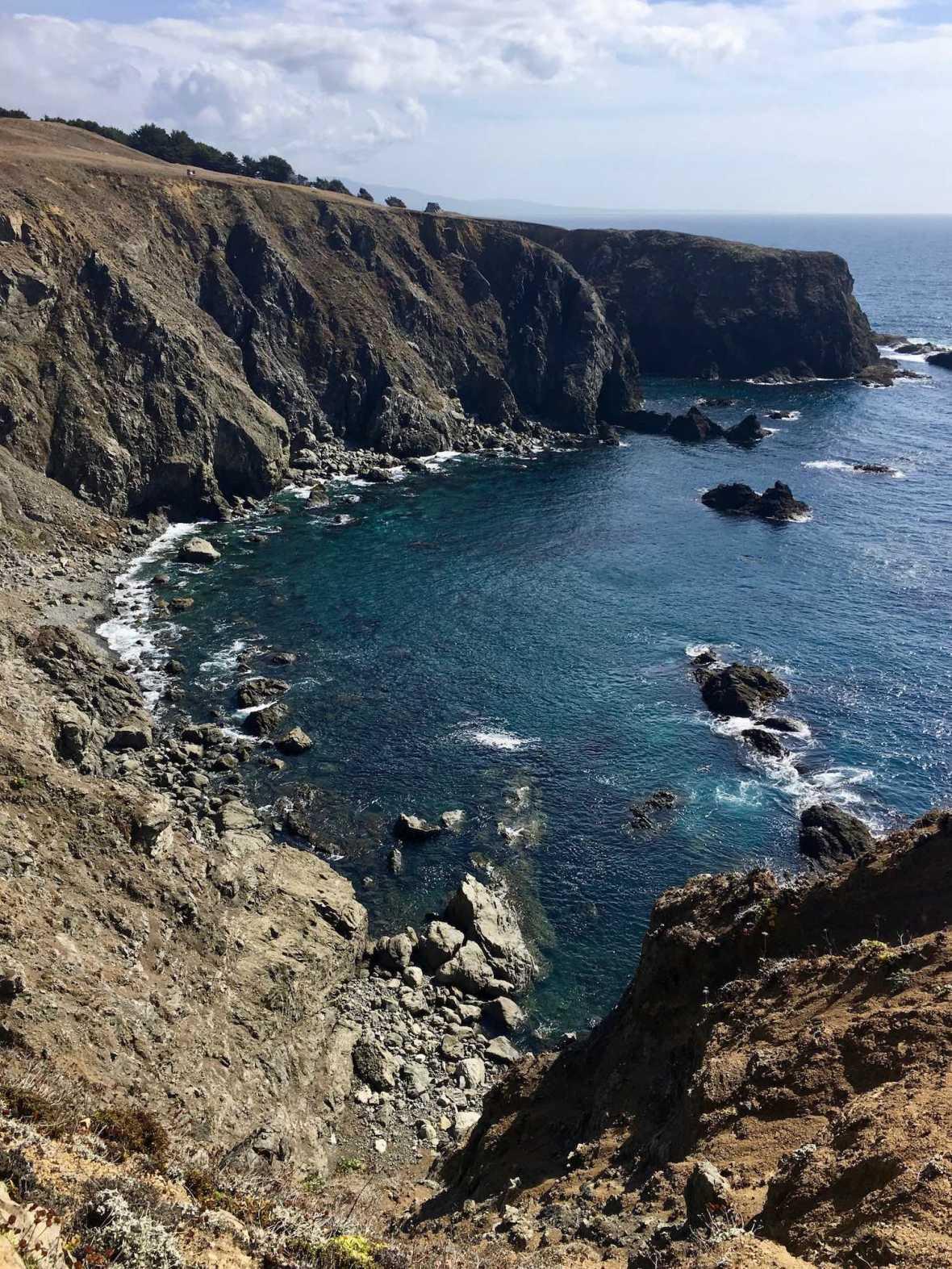Mendocino Headlands on California's Pacific Coast