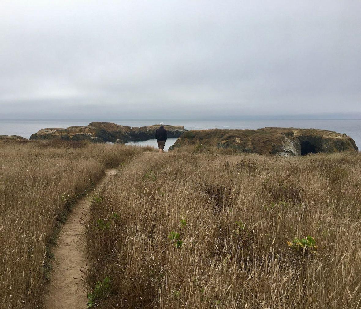 Mendocino Headlands State Park on California's Pacific Coast Highway 1