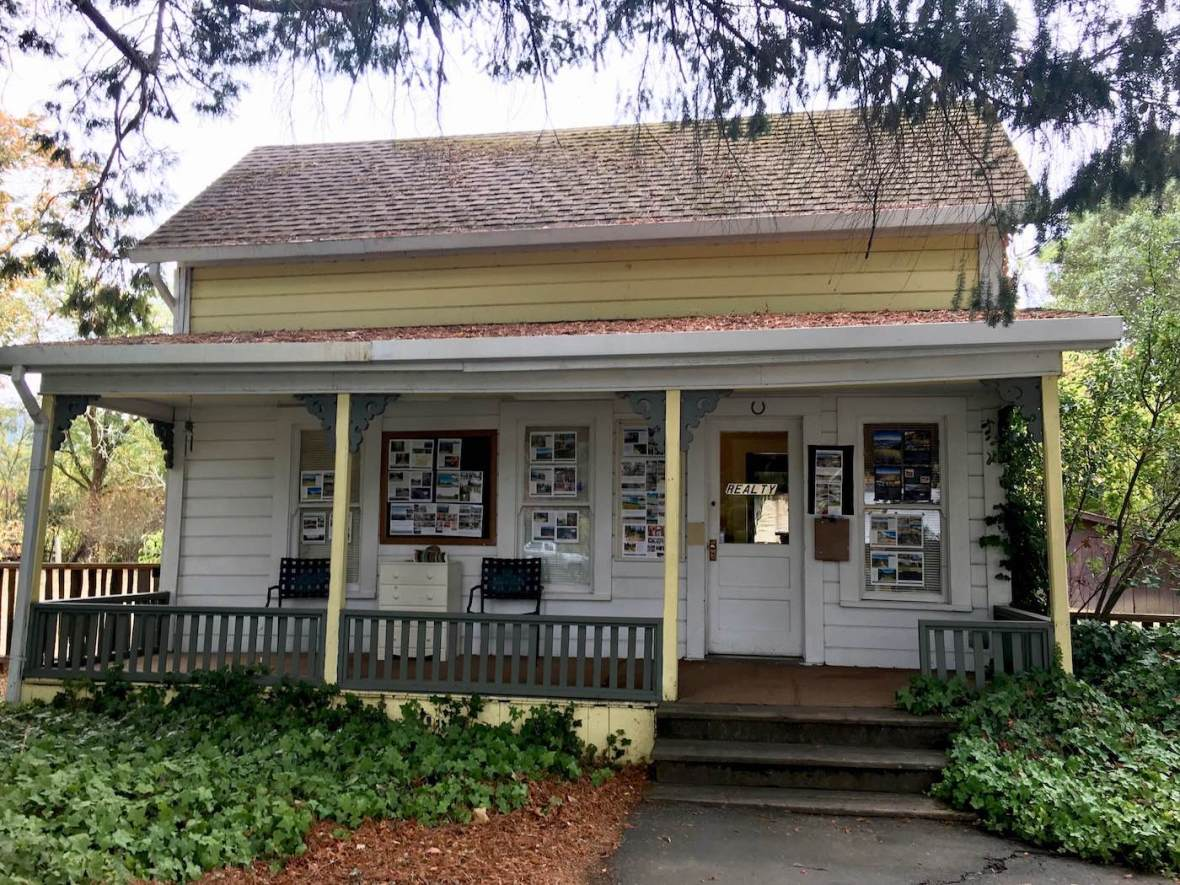 Real estate office in Boonville, California