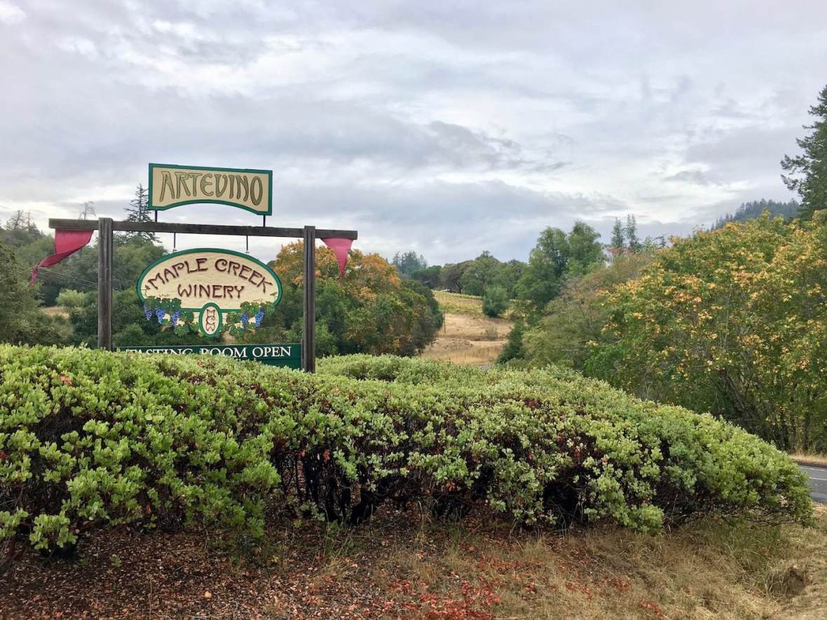 Maple Creek Winery in Anderson Valley, California