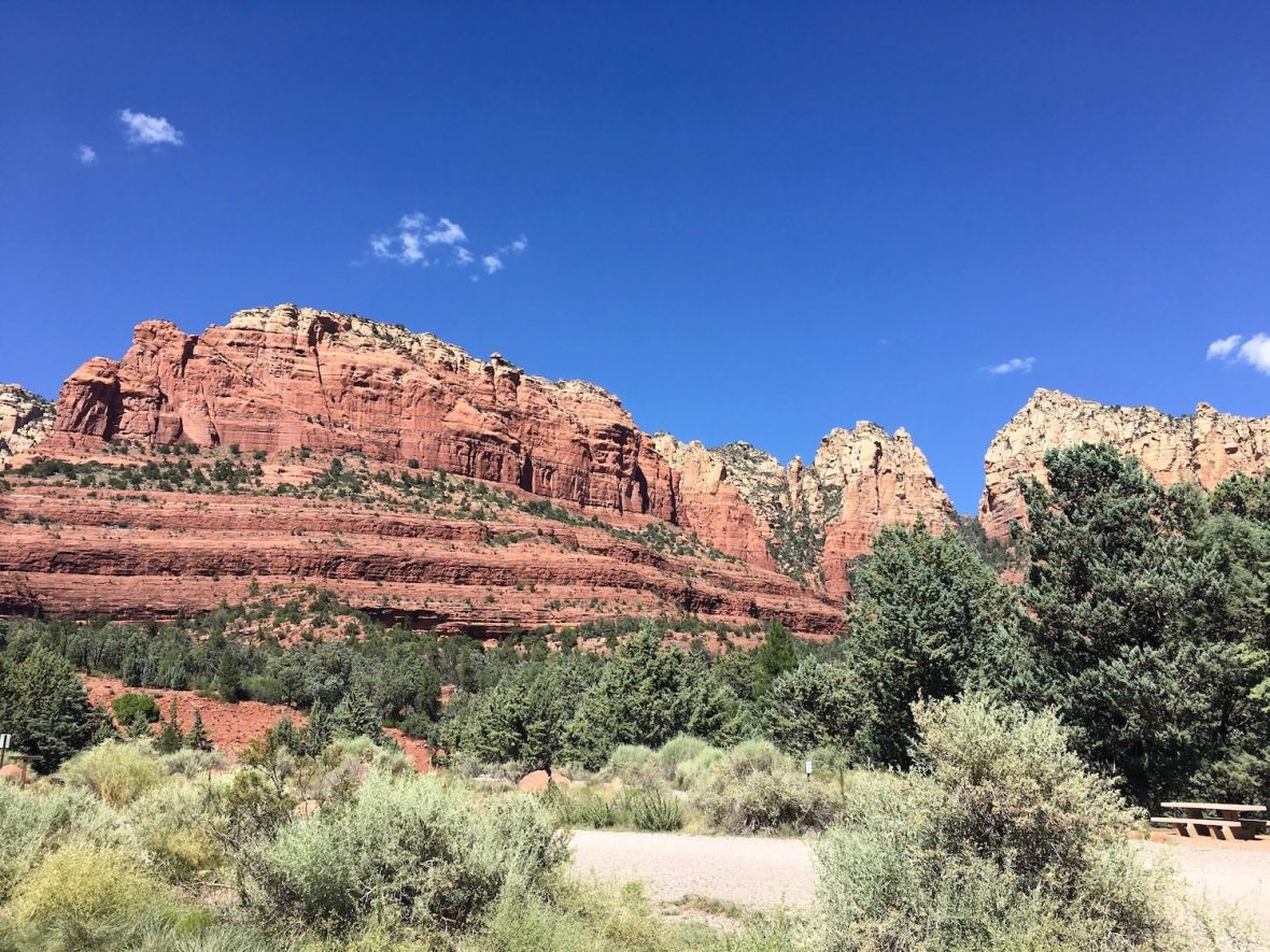 Coconino National Forest near downtown Sedona