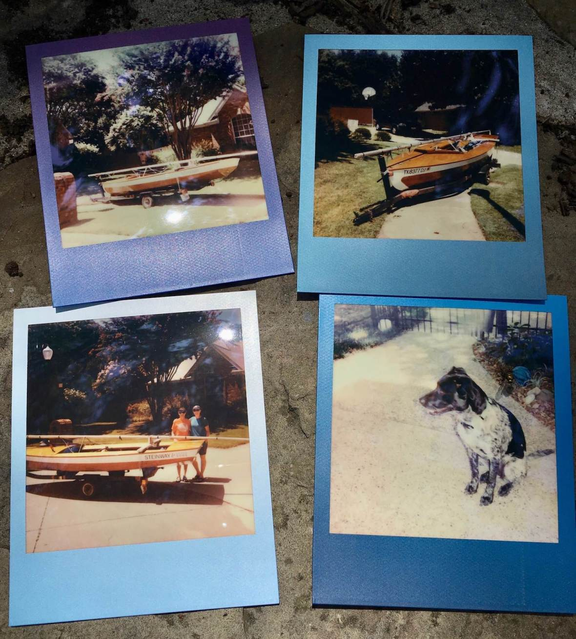 Polaroid I-Type Instant photographs Summer Blues Edition film