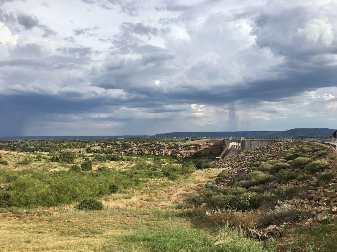 Conchas Lake Dam, Monsoon season in New Mexico's