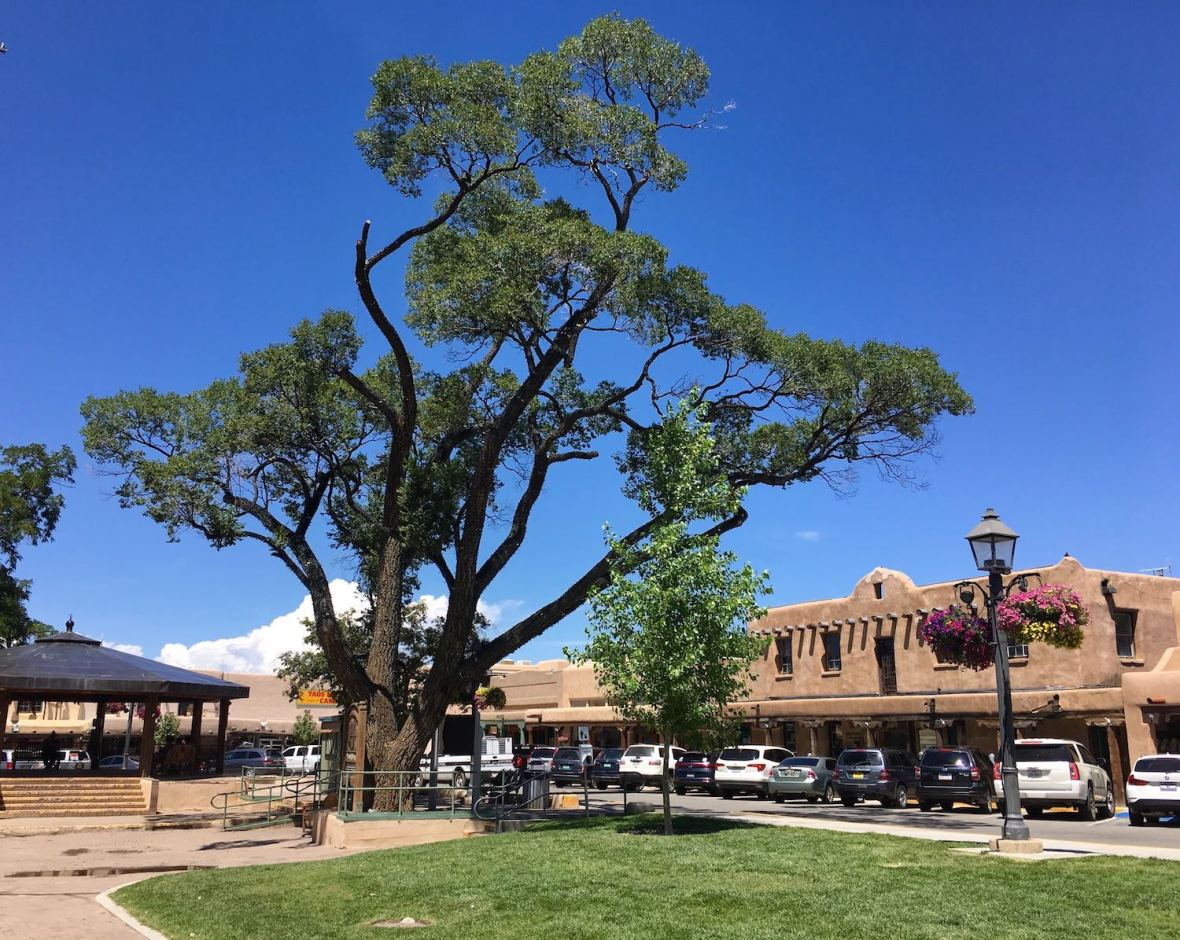 Taos Plaza, New Mexico