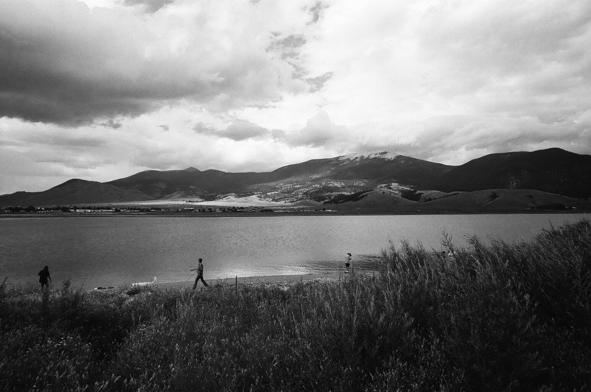 Afternoon at Eagle Nest Lake | 35mm photograph shot with Nikon F2 | Kodak Tri-X 400
