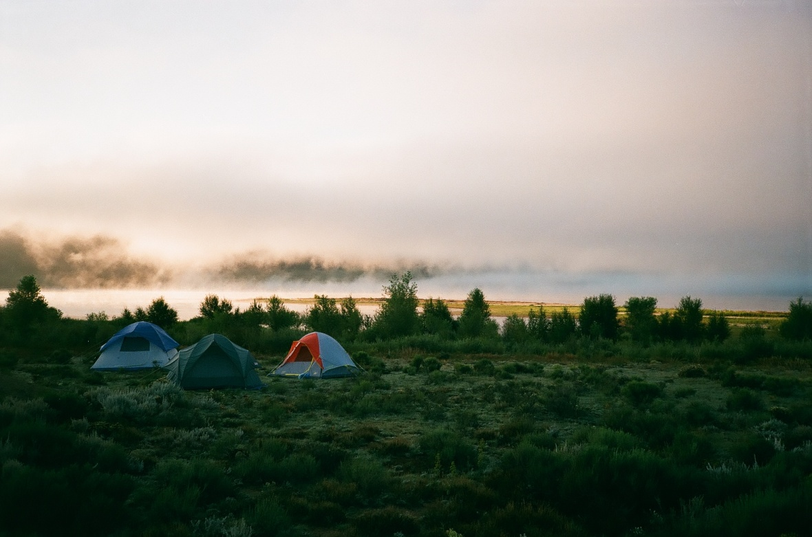 Camping at Eagle Nest Lake State Park | 35mm photograph shot on Nikon L35af | Kodak Gold 200