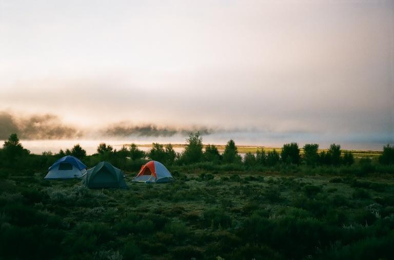 Camping at Eagle Nest Lake State Park | 35mm photograph shot on Nikon L35af | Kodak Gold 200
