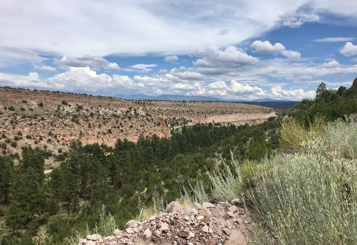 Near White Rock, New Mexico