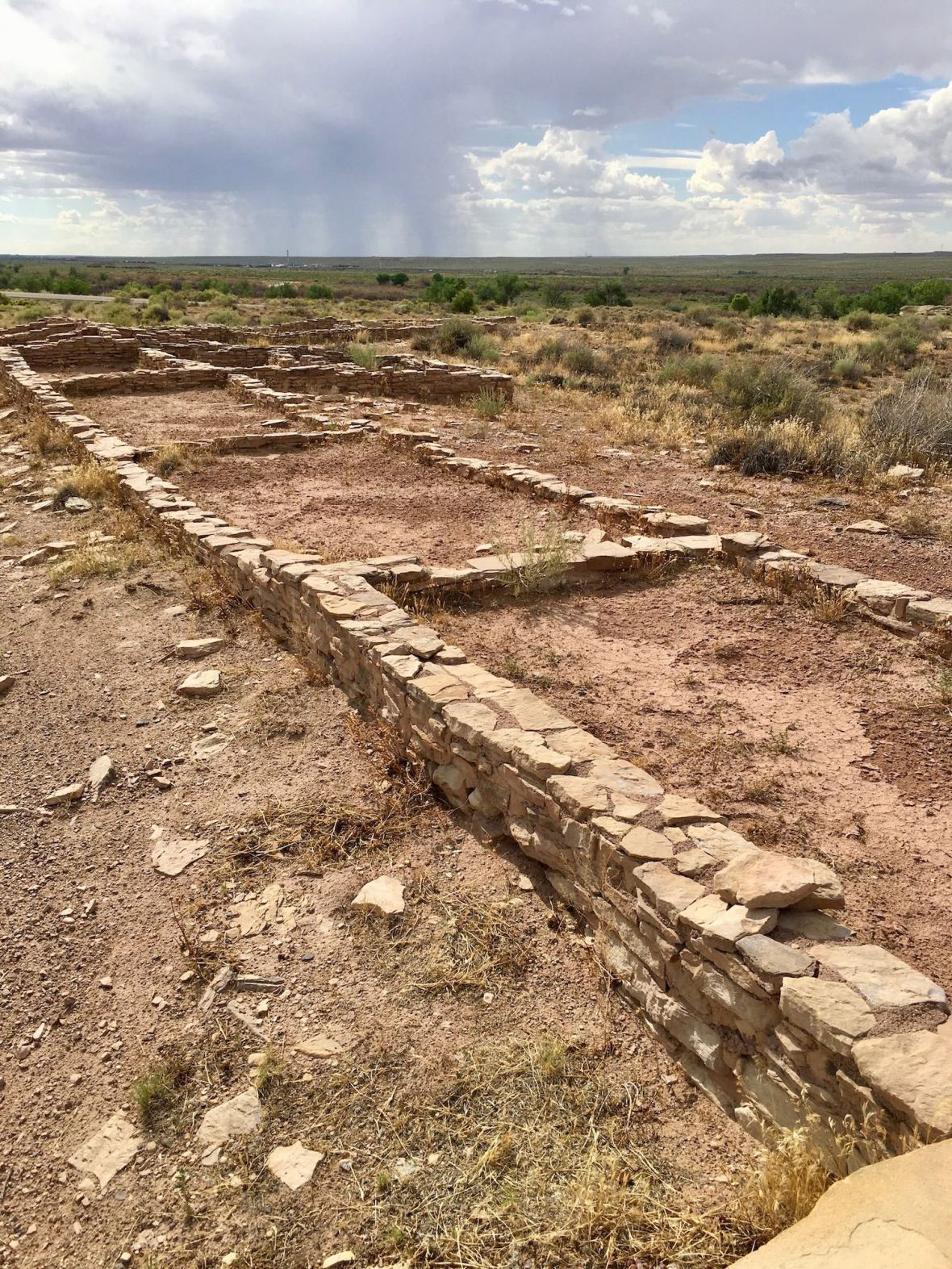 Puerco Pueblo in Petrified Forest National Park