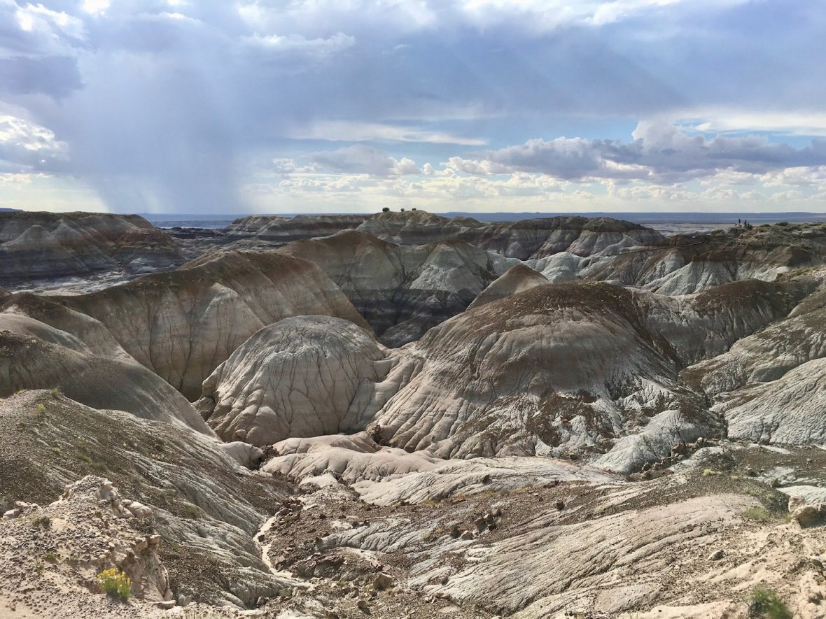 Blue Mesa in Petrified Forest National Park