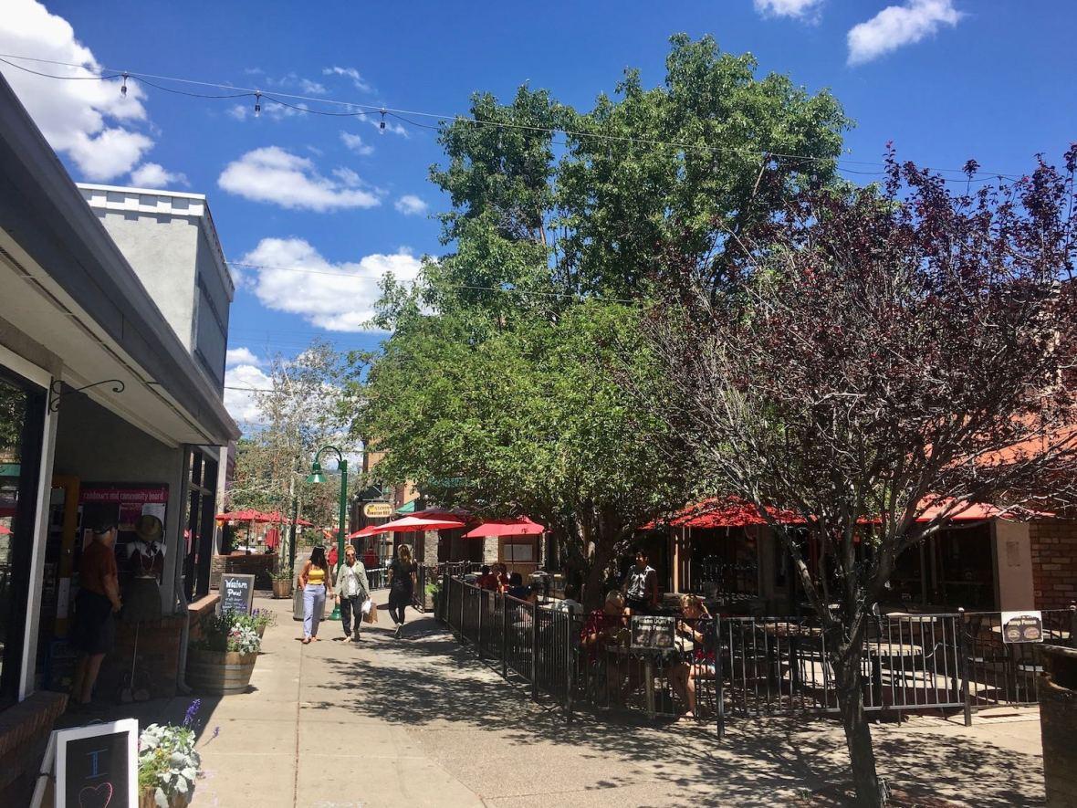 Flagstaff, Arizona promenade