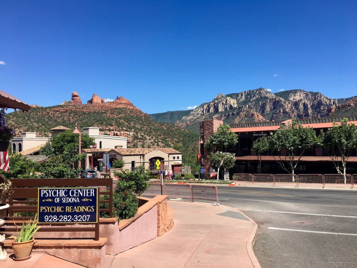 Red Rocks and Psychic Center of Sedona